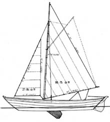 Power Dories and Sailing Dory Boat Plans by Pelin