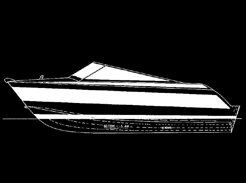 Power Boats: Alumina 4.4m